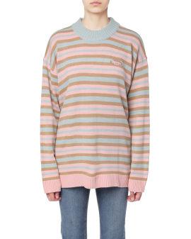 Stripe oversize sweater