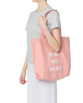 I Did My Best tote bag