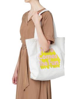 Here Comes The Fun tote bag