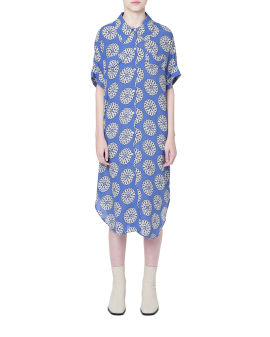 Anelise print dress