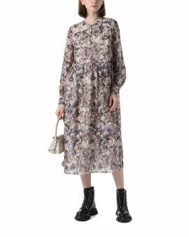 Allix printed dress
