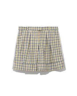 Nomade check shorts