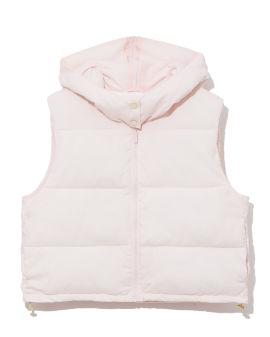 All-over diamond pattern print vestcoat