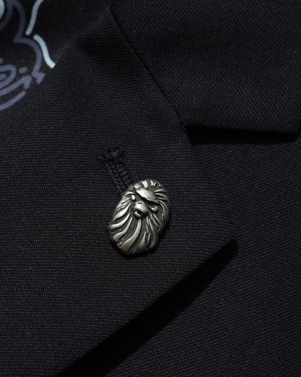 Classic logo badge blazer