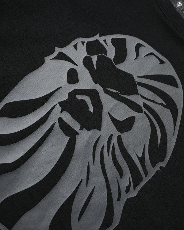 Logo print tee