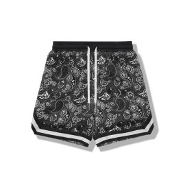 Paisley Print Shorts