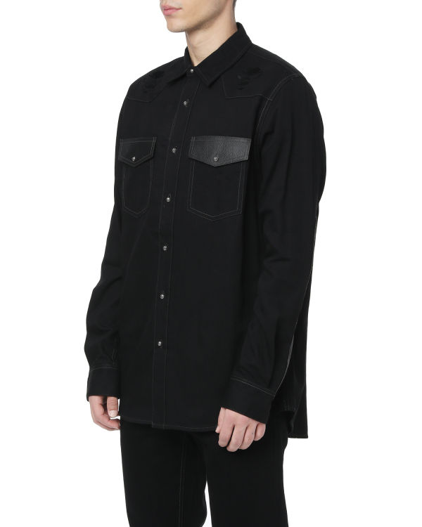 Panel shirt