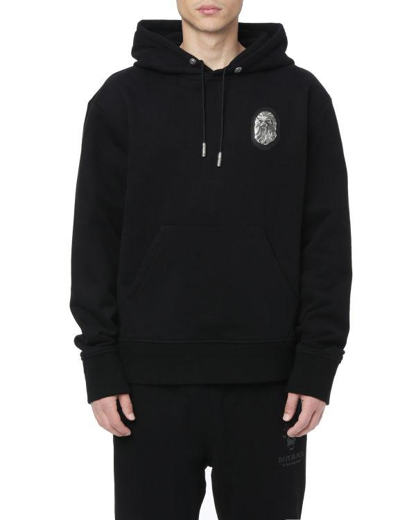 Ape badge pullover hoodie