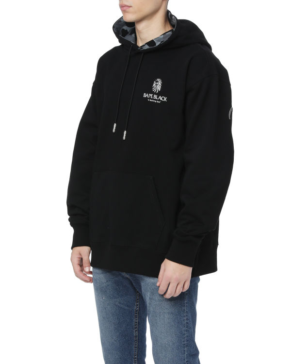 Logo embroidered hoodie