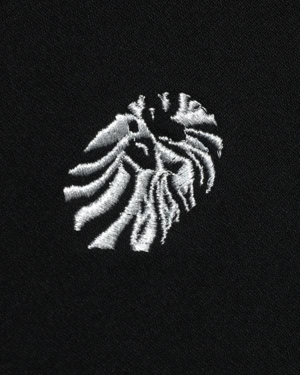 Sleeve print zip hoodie
