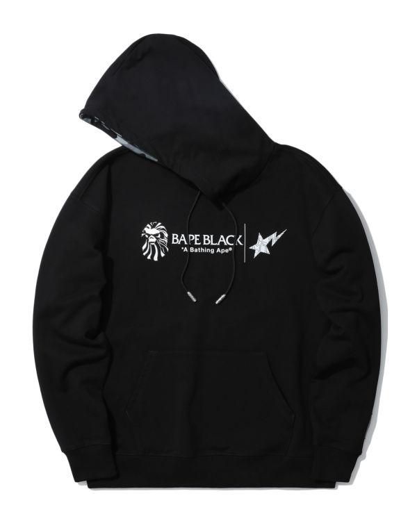 Logo appliqué hoodie