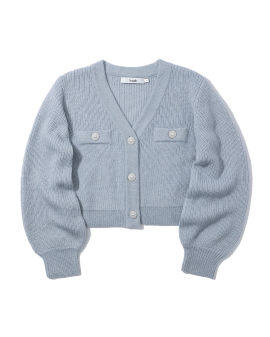 Embellished button cardigan