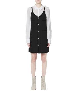 Two-piece mini dress