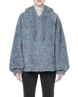 Teddy hoodie jacket