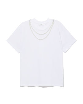 Pearl embellished top