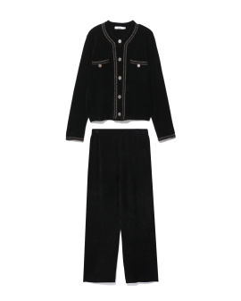 Cardigan and pants set