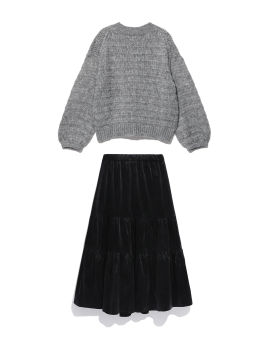 Sweater and skirt set