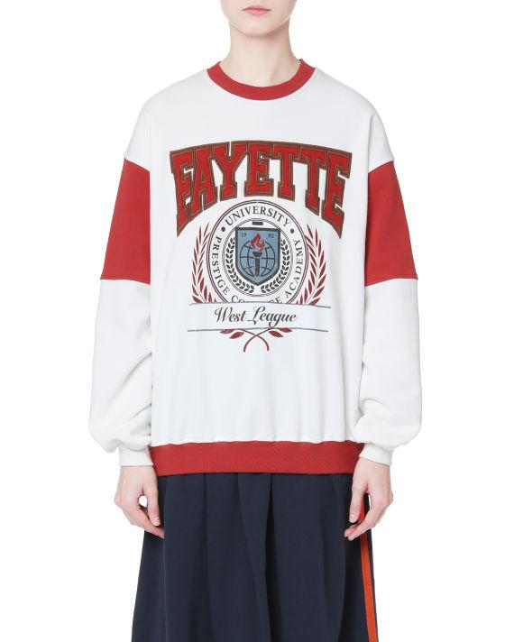 Varsity sweatshirt image number 2