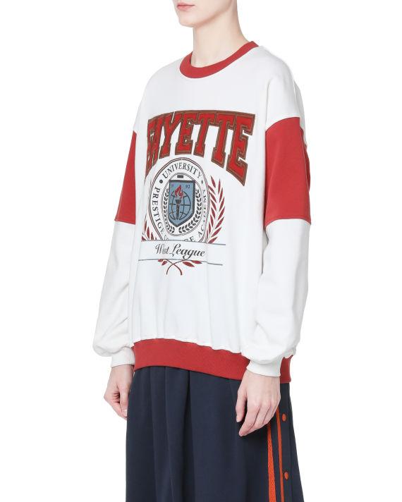 Varsity sweatshirt image number 3
