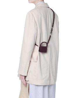 Bijou mini leather bag