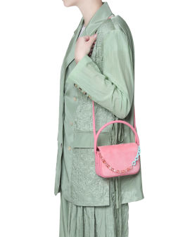 Lim leather crossbody bag