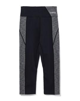 Panelled 3/4 leggings