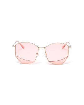 Irregular frame sunglasses
