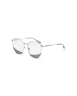 Splice pentagon sunglasses
