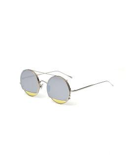 Round clip-on sunglasses