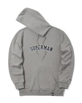 X Superman arch logo hoodie