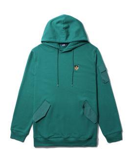 Flap detail hoodie