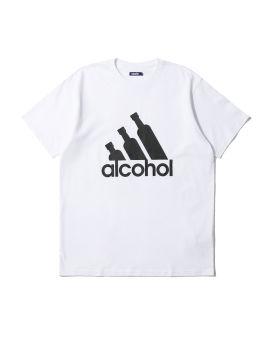 Alcohol print tee