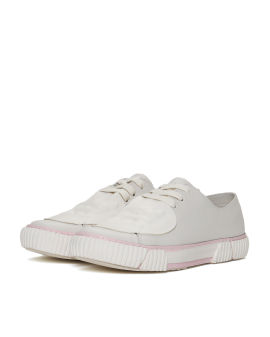 Gum Stripe patch sneakers