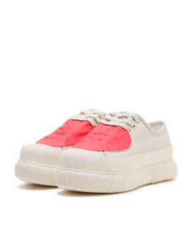 Rubber patch chunky sneakers