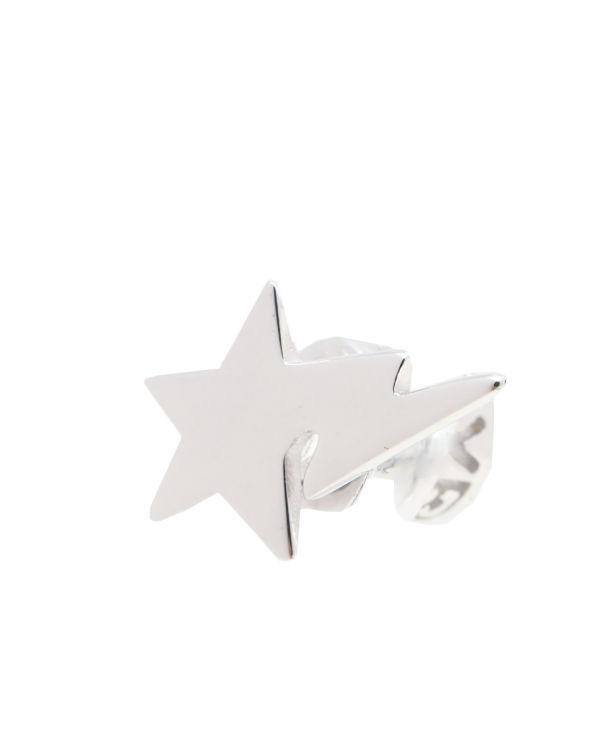 Logo star earrings