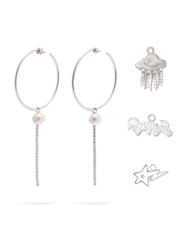 Interchangeable earrings set