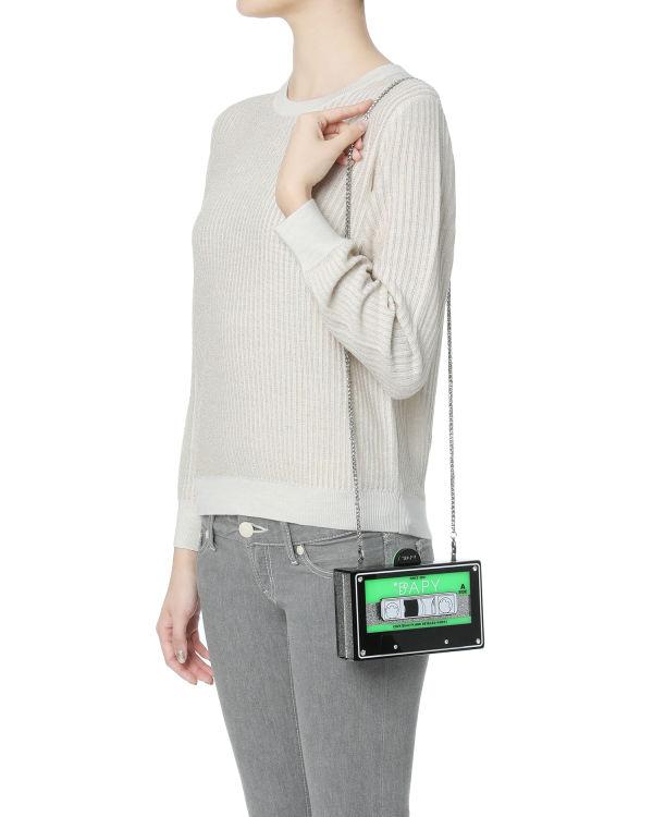 Cassette shoulder bag