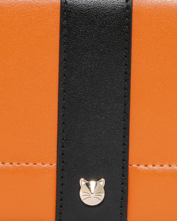 Colour block wallet bag