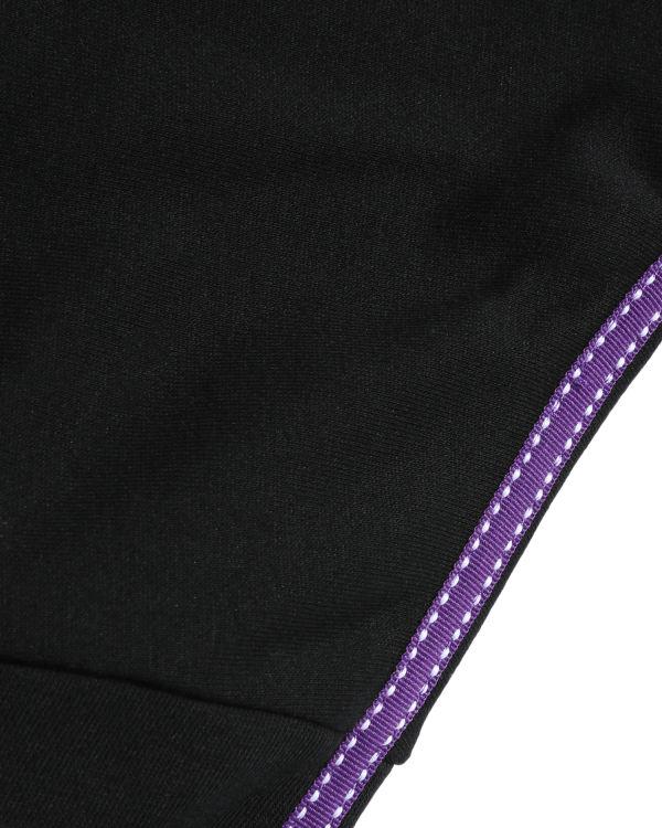 Lace tie sleeve sweat dress
