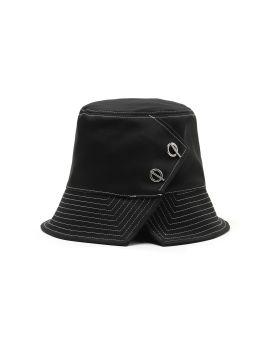 X CA4LA Contrast topstitch bucket hat