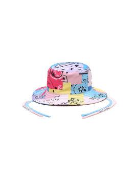 X KHRISJOY Patchwork bucket hat