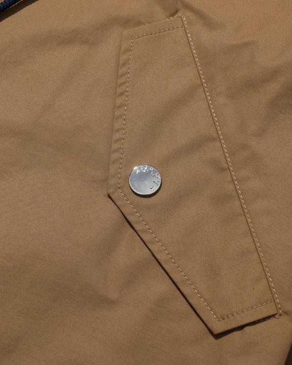 Drawstring parka jacket