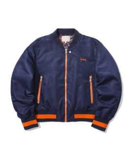 Crop bomber jacket