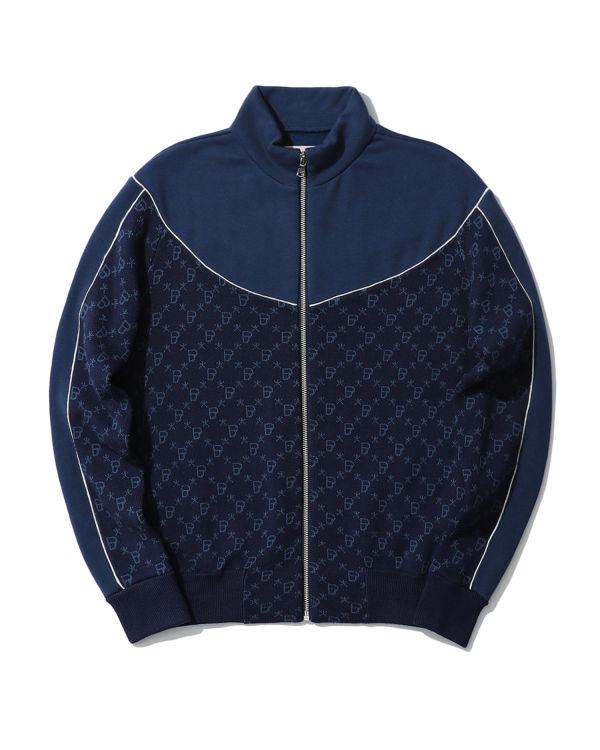 Logo monogram zip jacket