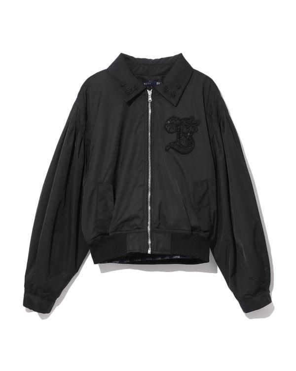Logo blouson jacket