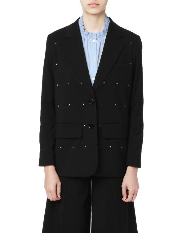 Embellished blazer jacket