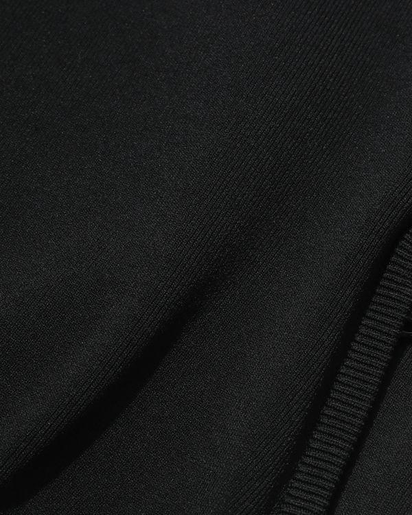 Logo knit track jacket