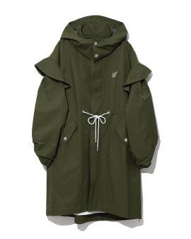 Oversized ruffle jacket