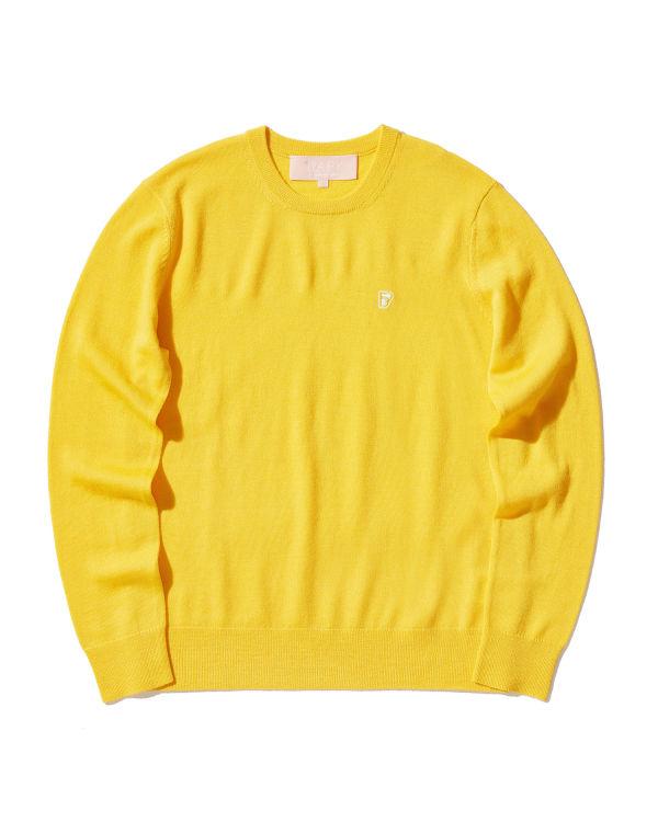 Logo badge sweater