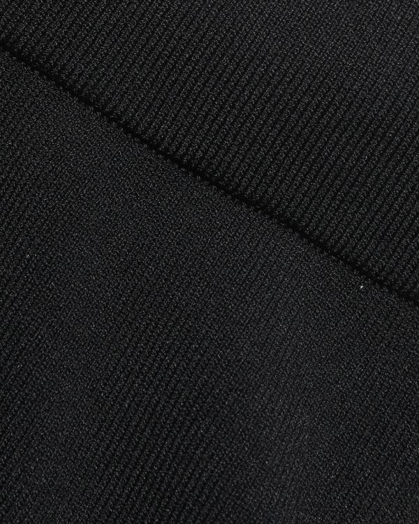 Logo knit track pants